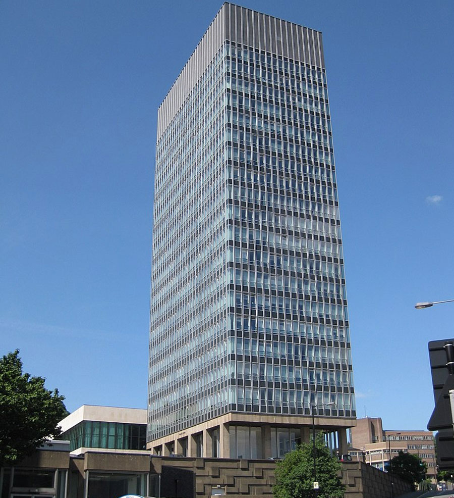 Sheffield arts tower